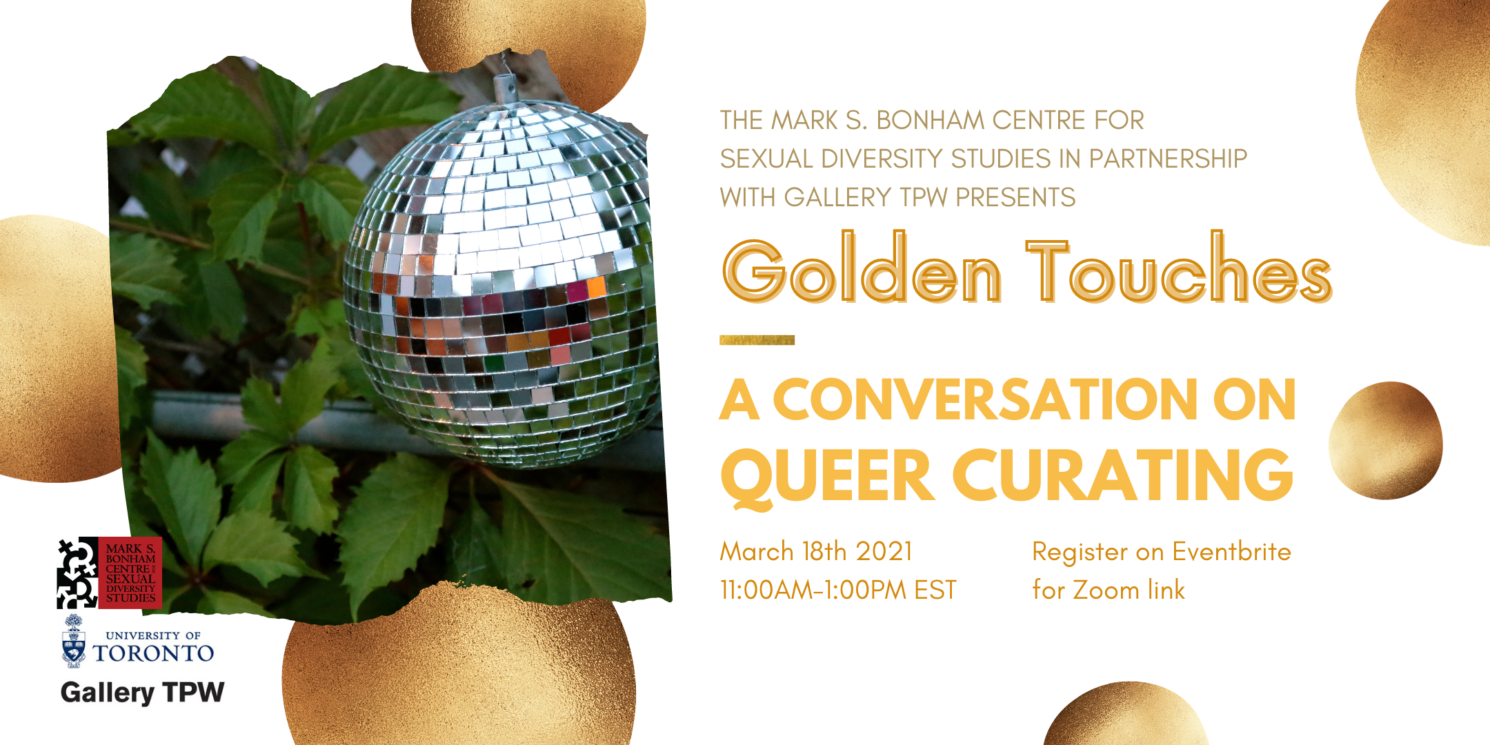 Golden Touches: A Conversation on Queer Curating