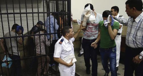 Human Rights Panel: Cairo's 2013 Bathhouse Raid