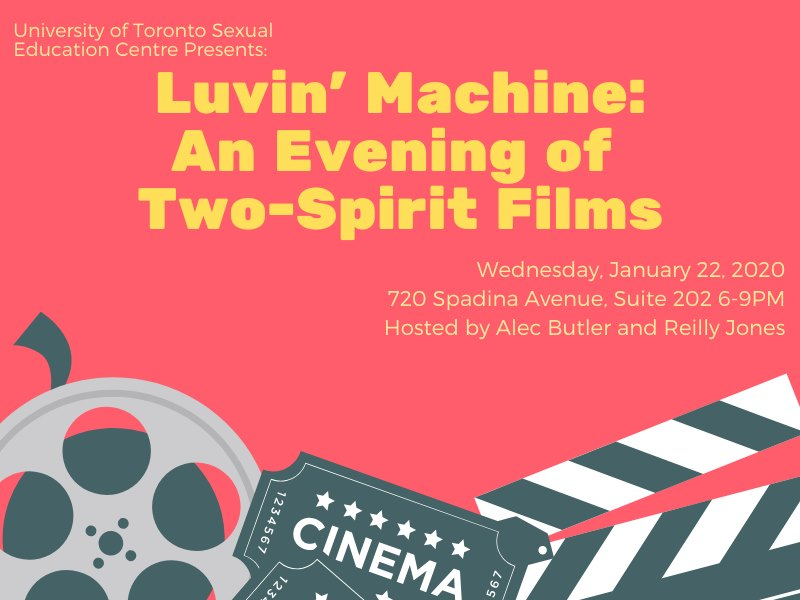 Luvin' Machine: An Evening of Two-Spirit Films