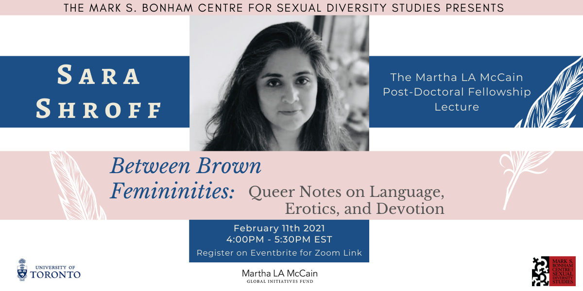 Sara Shroff on Between Brown Femininities: Queer Notes on Language, Erotics, and Devotion