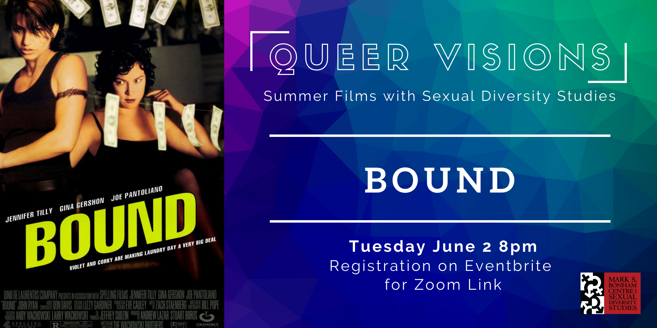 Queer Visions: Summer Films with SDS | Bound
