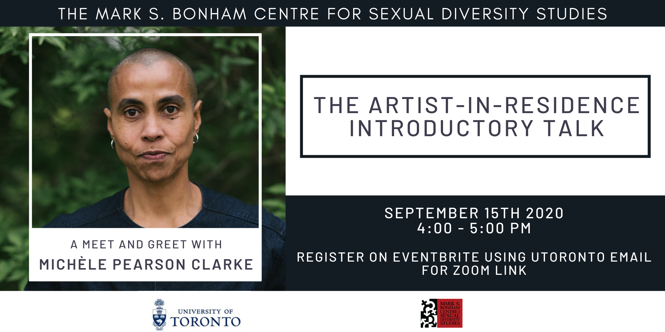 Artist-in-Residence Talk: Meet-And-Greet with Michèle Pearson Clarke