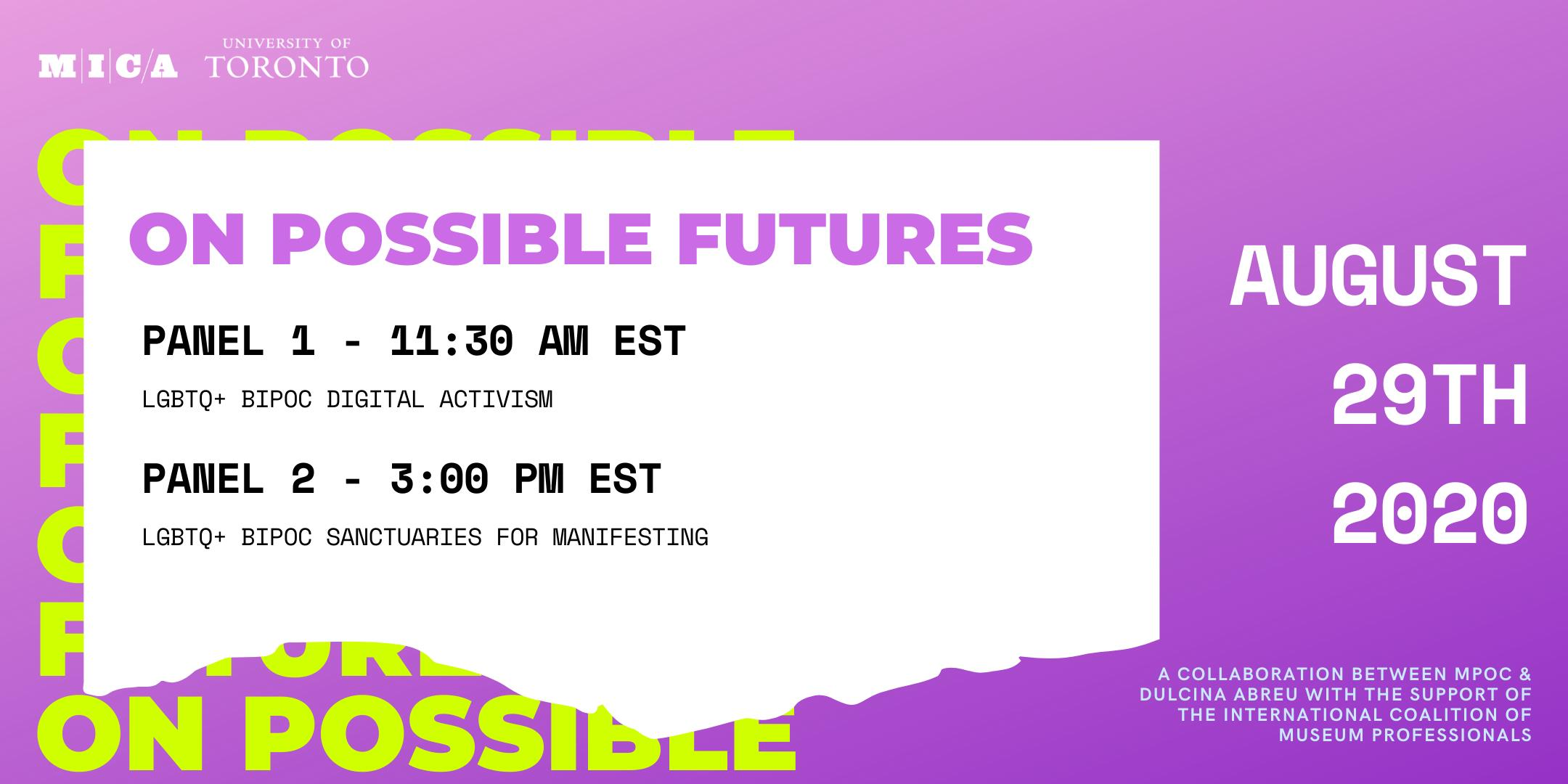 On Possible Futures