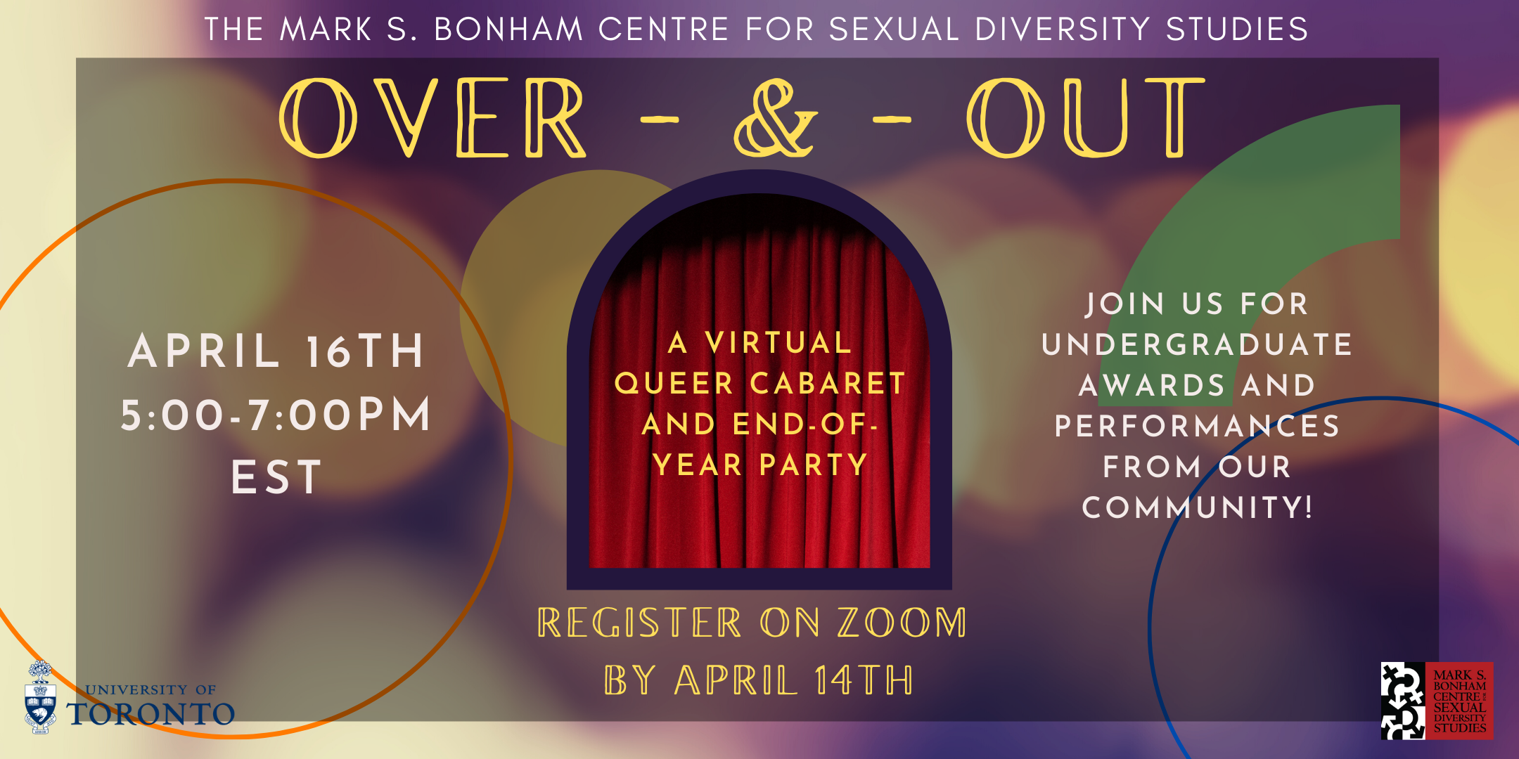 Over and Out: SDS Virtual Queer Cabaret and End-of-Year Party