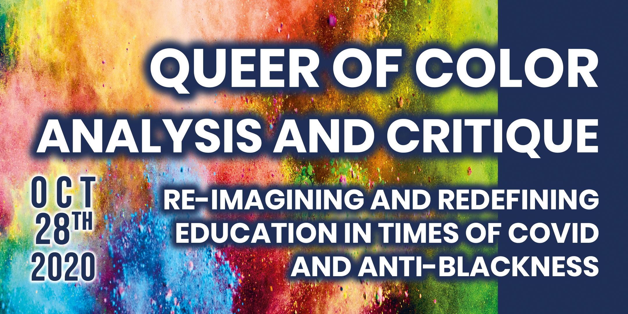 QOCAERI: Re-imagining and Redefining Education in Times of COVID and Anti-Blackness