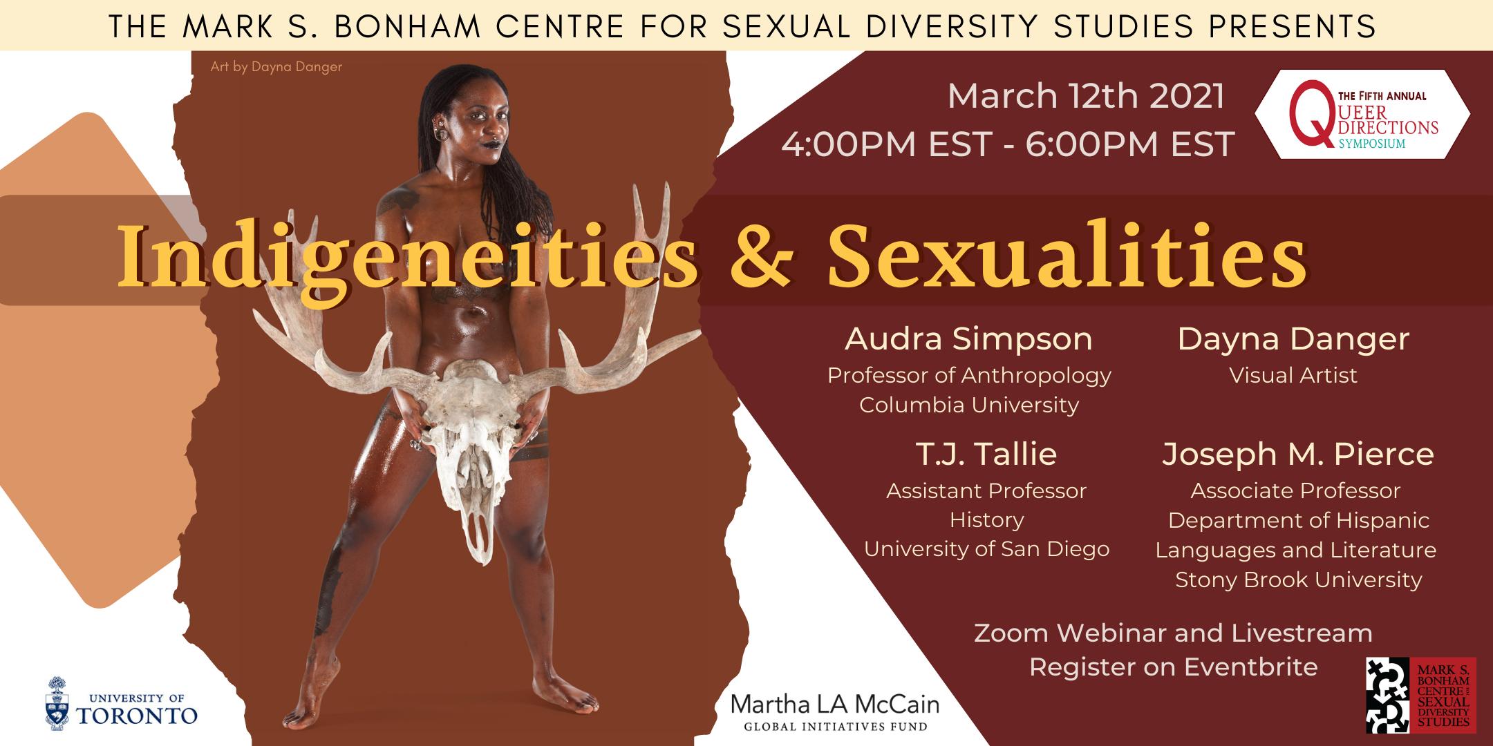 Queer Directions Symposium: Indigeneities & Sexualities