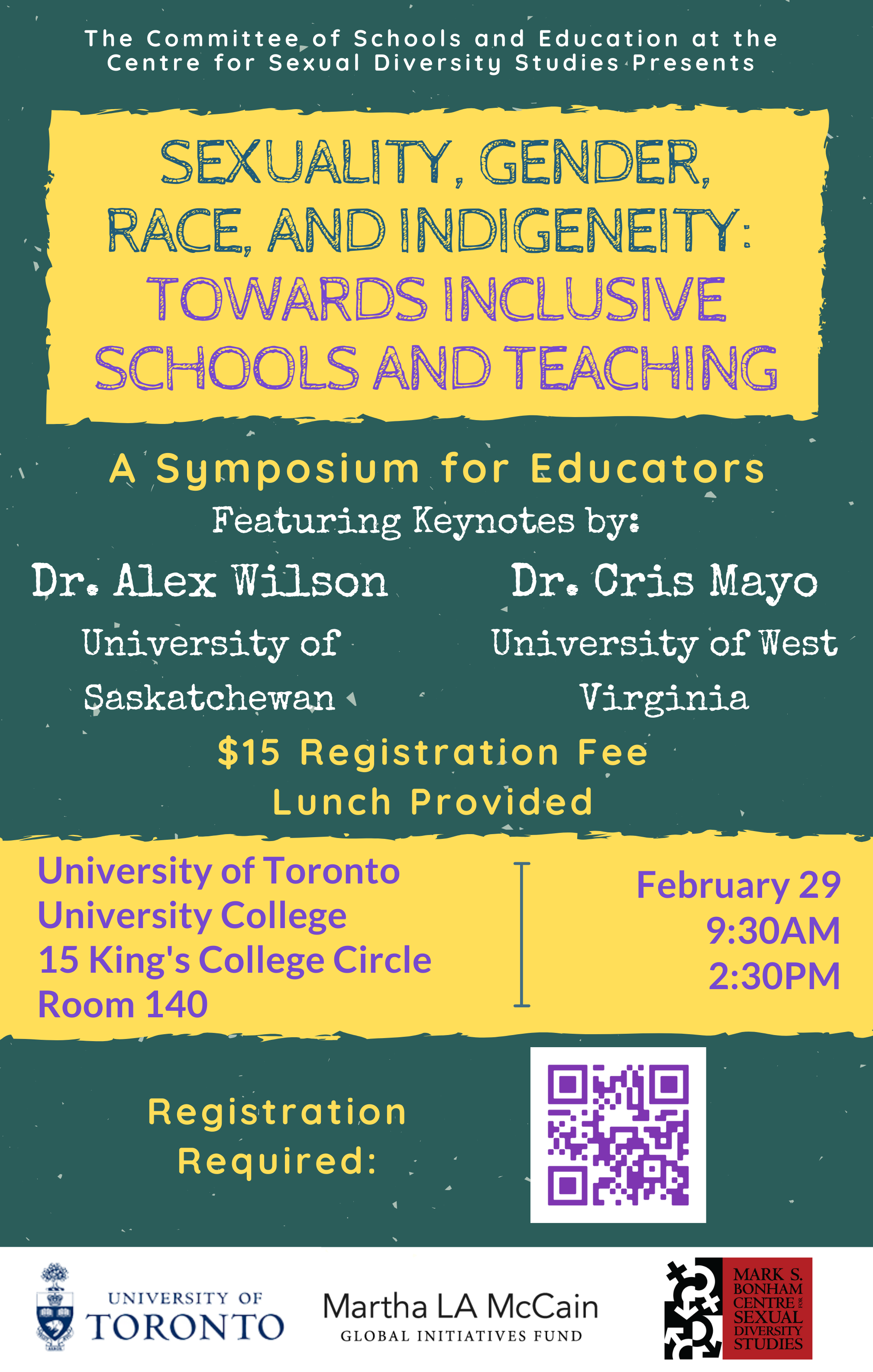 Sexuality, Gender, Race, and Indigeneity: Towards Inclusive Schools and Teaching
