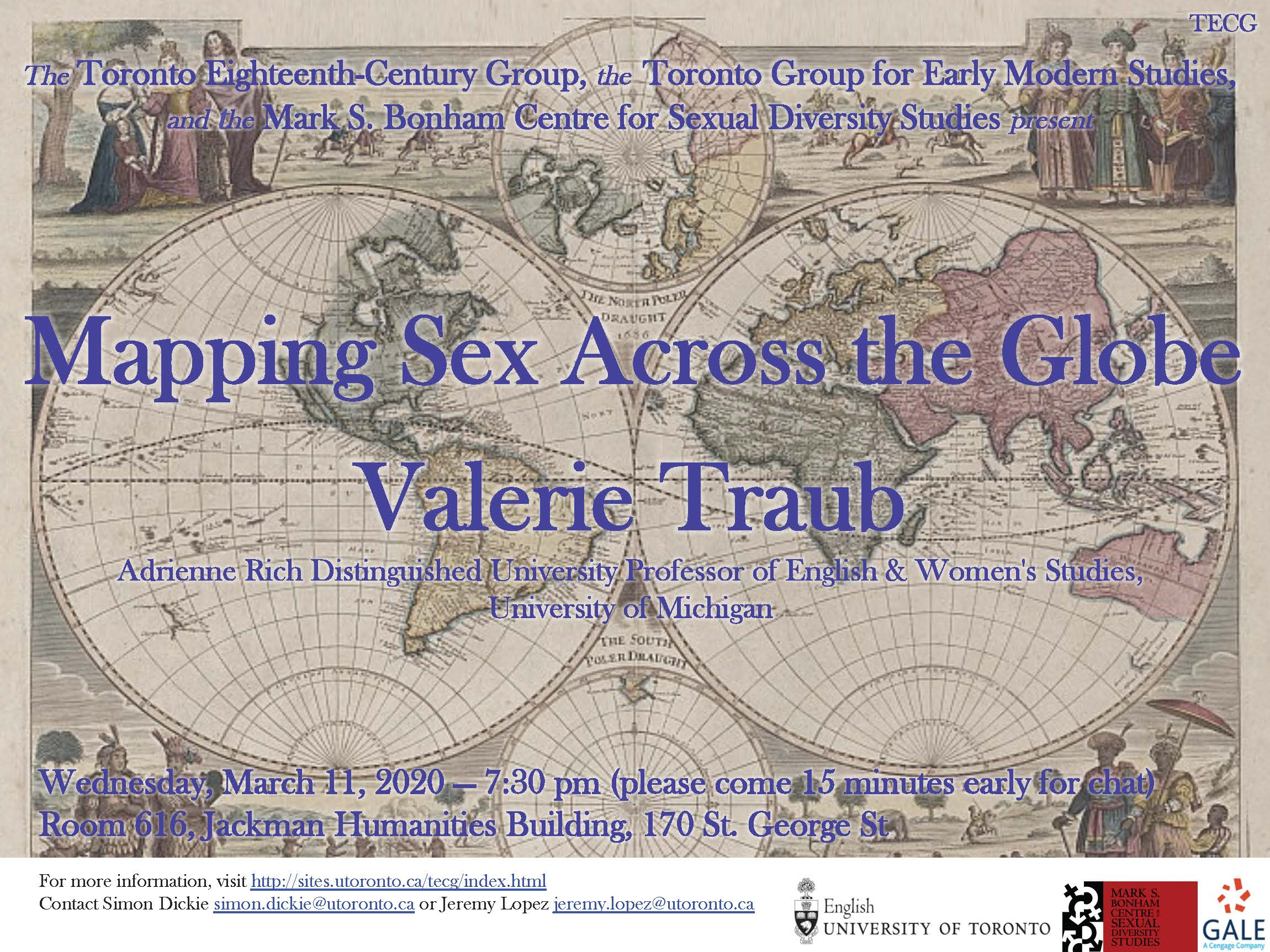Mapping Sex Across the Globe: Valerie Traub